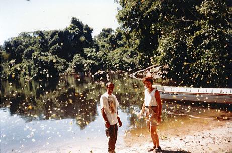Shelley et Claudie en Amazonie_Papillons Biodiversifiés