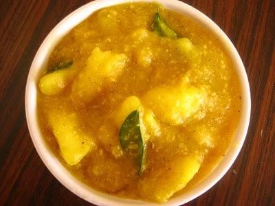 curry de manioc